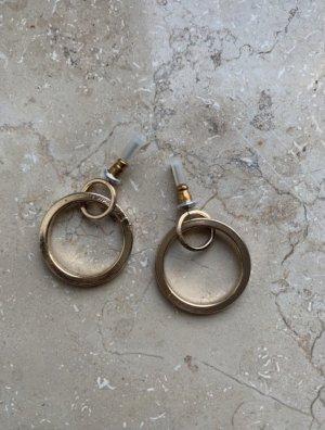 unbekannte Pendientes de oro color oro