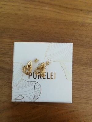 Purelei Ear stud gold-colored