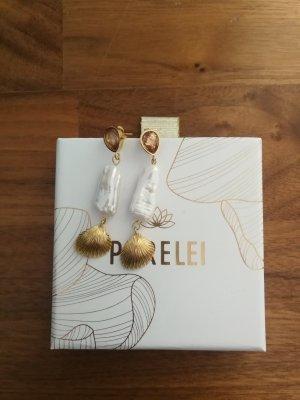 Goldene Ohrringe Kapakai Purelei