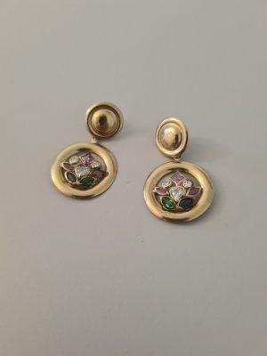 Vintage Statement Earrings multicolored