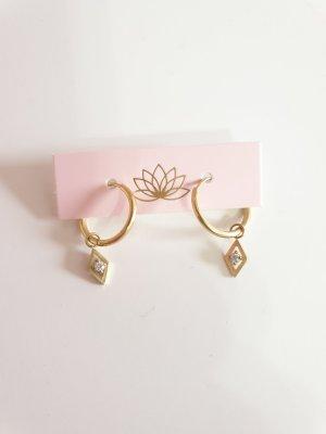 goldene Ohrringe von Purelei