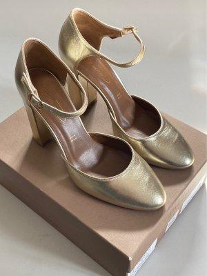 Bianca Di Pumps met bandjes goud