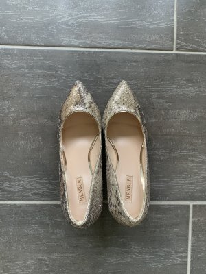 Goldene Pumps Menbur