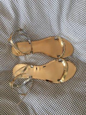 goldene Sandaletten ASOS