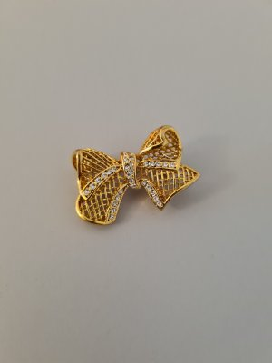 Vintage Broche goud