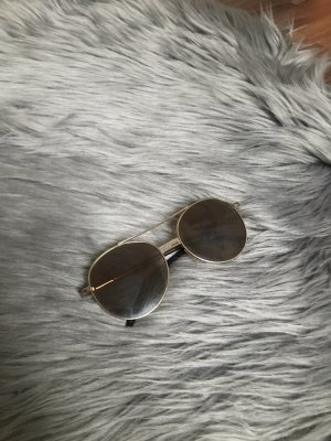 H&M Glasses gold-colored mixture fibre