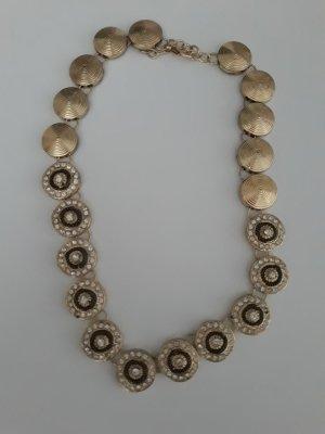 Bijou Brigitte Statement Necklace black-gold-colored