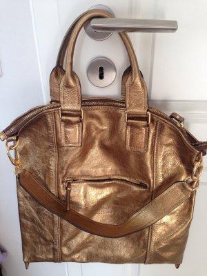 goldene Tasche Handtasche Shopper von Kesslord, neu