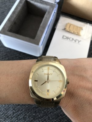 DKNY Watch With Metal Strap multicolored