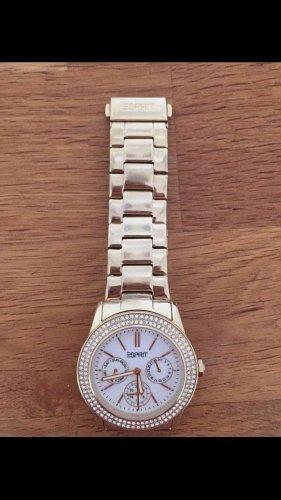 goldene Uhr von Esprit