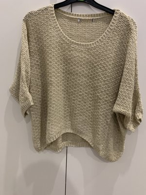 Tally Weijl Oversized Sweater gold-colored