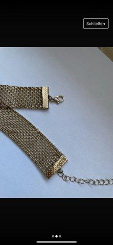 H&M Cadena de oro color bronce