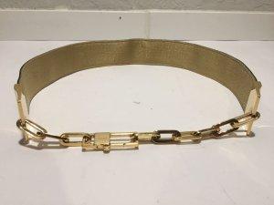 Gucci Waist Belt black-gold-colored leather