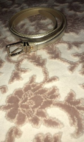 Canvas Belt gold-colored