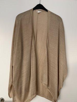 H&M Jersey kimono color oro