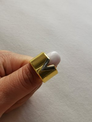 Statement Ring silver-colored-gold-colored