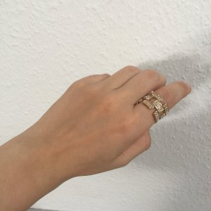 Tosh Gold Ring gold-colored