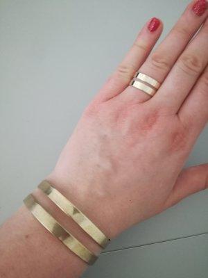 goldener Ring und Armreif vintage LBVYR