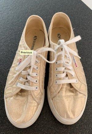 goldener Schuhe von superga in 42