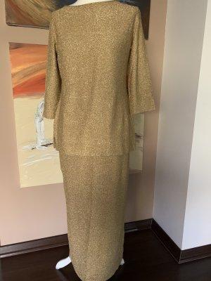 ae elegance Ensemble en tricot doré