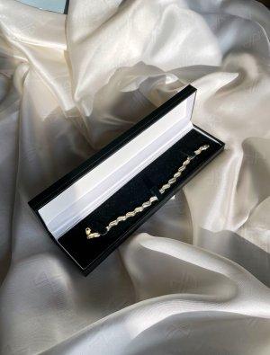 Goldenes Armband 585er Gelbgold und Silber