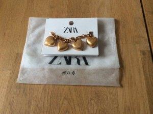 Zara Bracciale charm oro Metallo