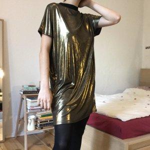 Goldenes Partykleid