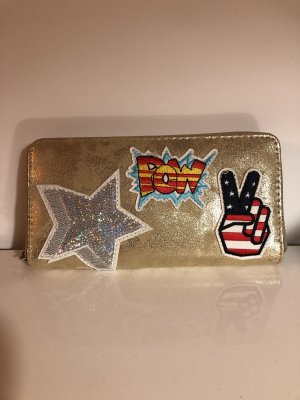Wallet gold-colored
