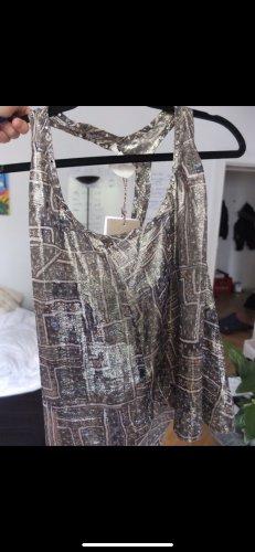 Isabel Marant pour H&M Batik Shirt gold-colored-taupe