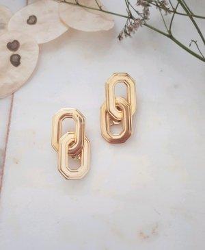 Vintage Clip d'oreille doré