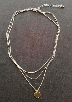Collar color oro-color bronce metal