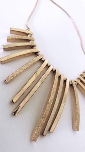Goldfarbene Halskette für dein Event!
