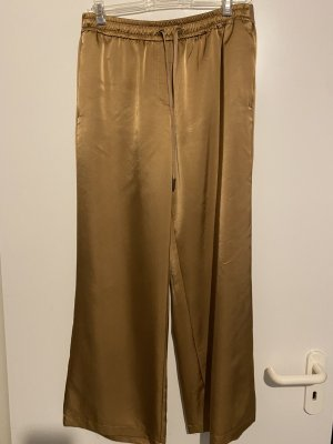 summum woman Marlene Trousers gold-colored viscose