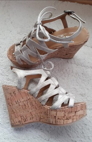 Fritzi aus preußen Wedge Sandals multicolored