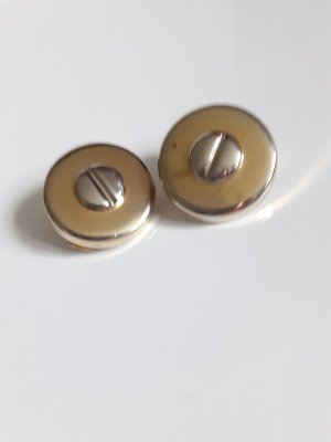 Earclip silver-colored-gold-colored