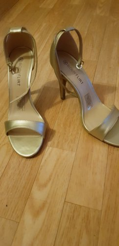 Bodyflirt Strapped pumps gold-colored