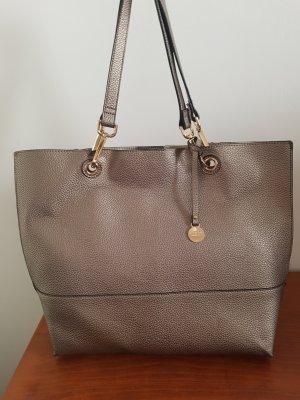 Goldfarbene Shopper Tasche
