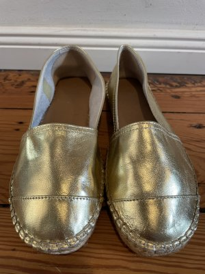 Cox Slip-on Shoes gold-colored leather