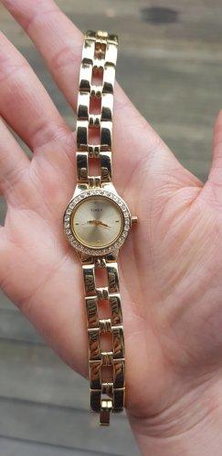 Goldfarbene Uhr