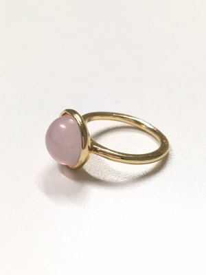 Gold Ring gold-colored-pink