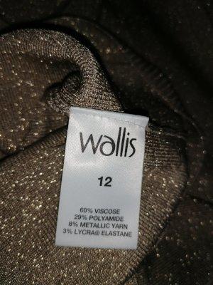 Wallis Camisa de cuello de tortuga color bronce-color oro