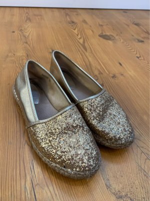 Slip-on Shoes gold-colored