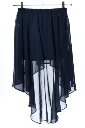 Goldie Asymetryczna spódniczka niebieski W stylu casual