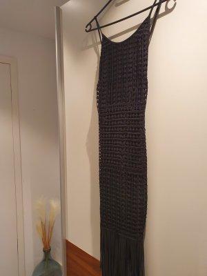 Goldie Fringed Dress black