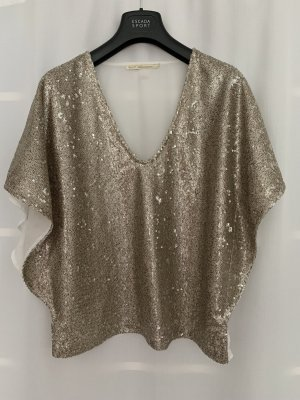 Gaudi Basic Top gold-colored-white