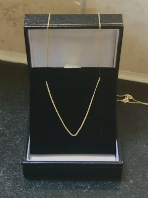 Goldkette 585, Goldkette, Revoni Kette, NEU mit Zertifikat