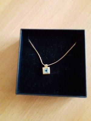 Juwelier Złoty łańcuch złoto-jasnoniebieski