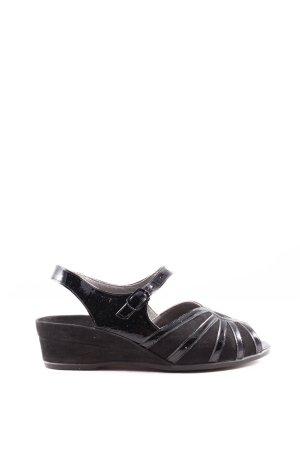 GOLDKRONE Komfort-Sandalen schwarz Casual-Look