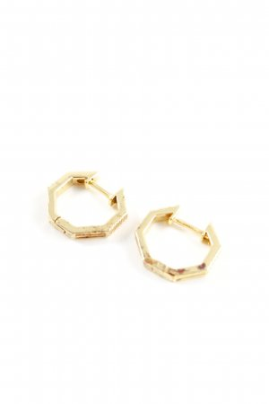 Daisy London Gold Earring gold-colored business style