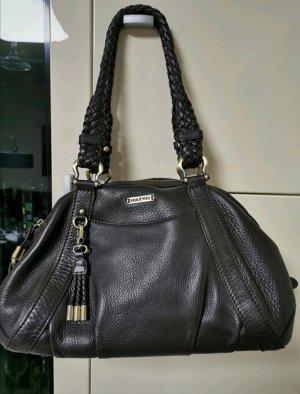 goldpfeil Leder Tasche